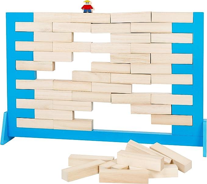 Buiten speel - ga193 - Juego de Mesa - Juegos de Pared de Madera Gigante (52 x 34 cm): Amazon.es: Juguetes y juegos