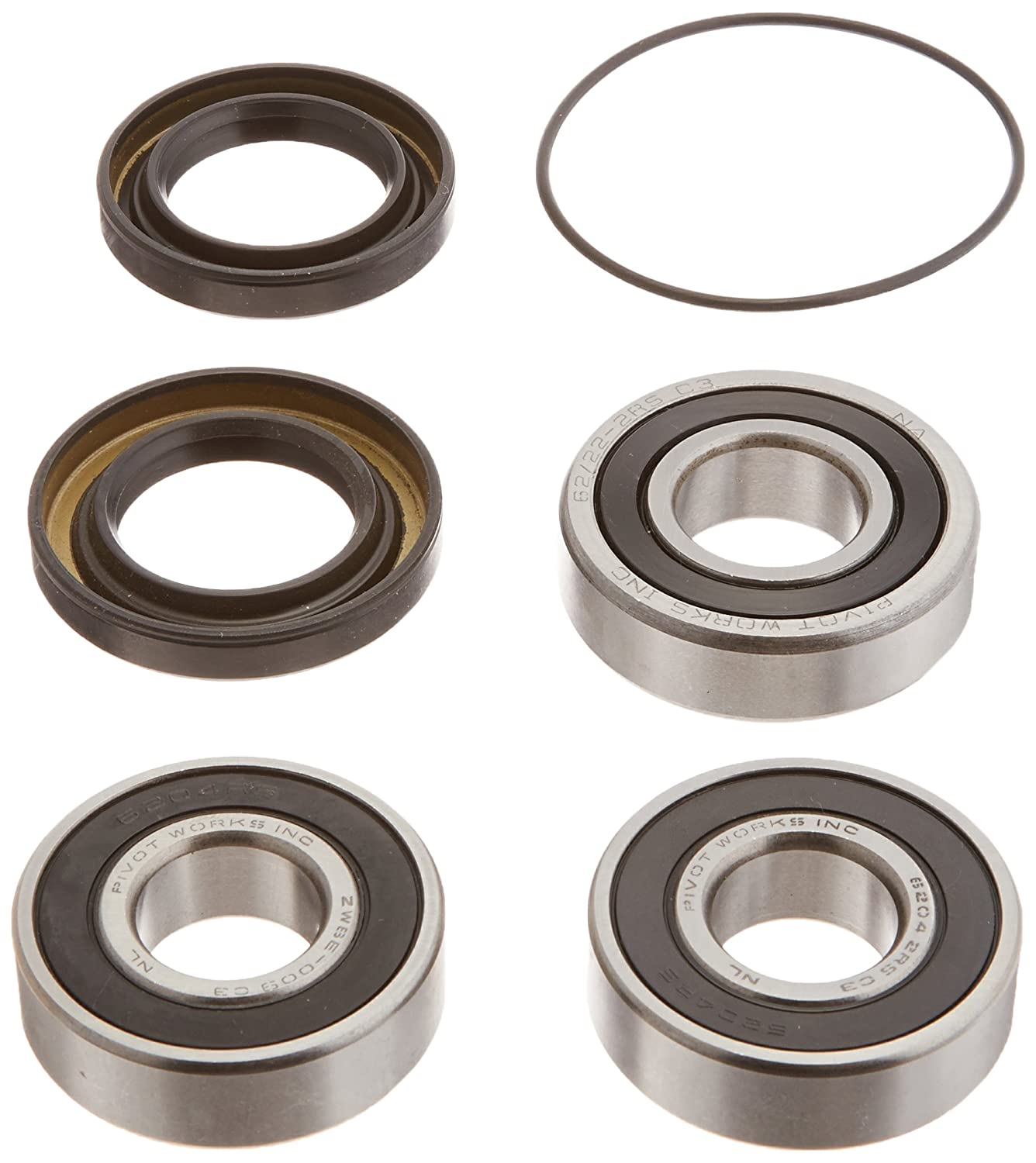 Pivot Works PWFWS-H04-000 Front Wheel Bearing and Seal Kit