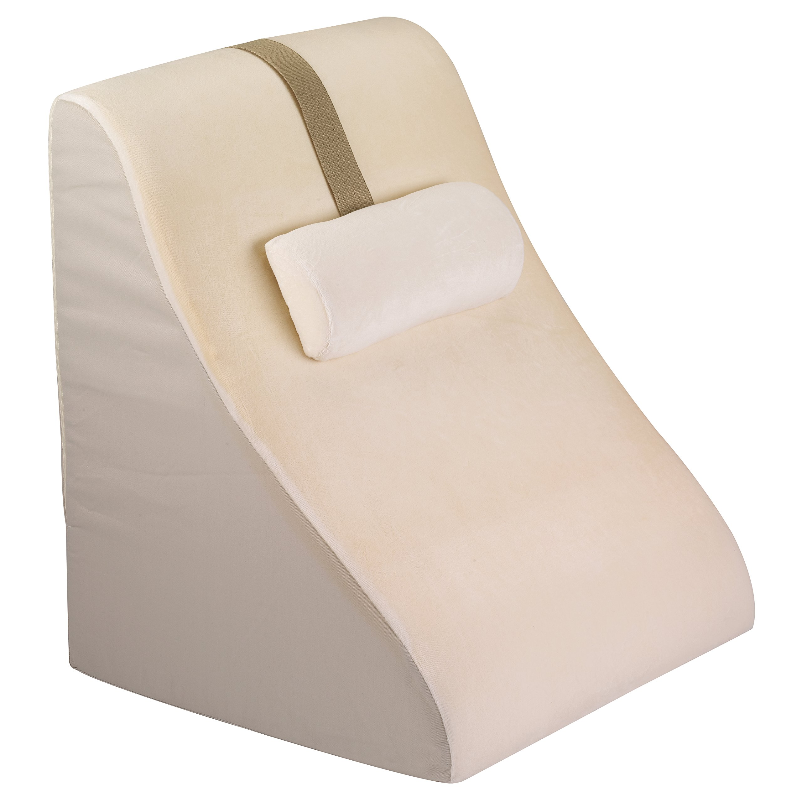 Jobri Bed Wedge With Memory Foam Back Support New