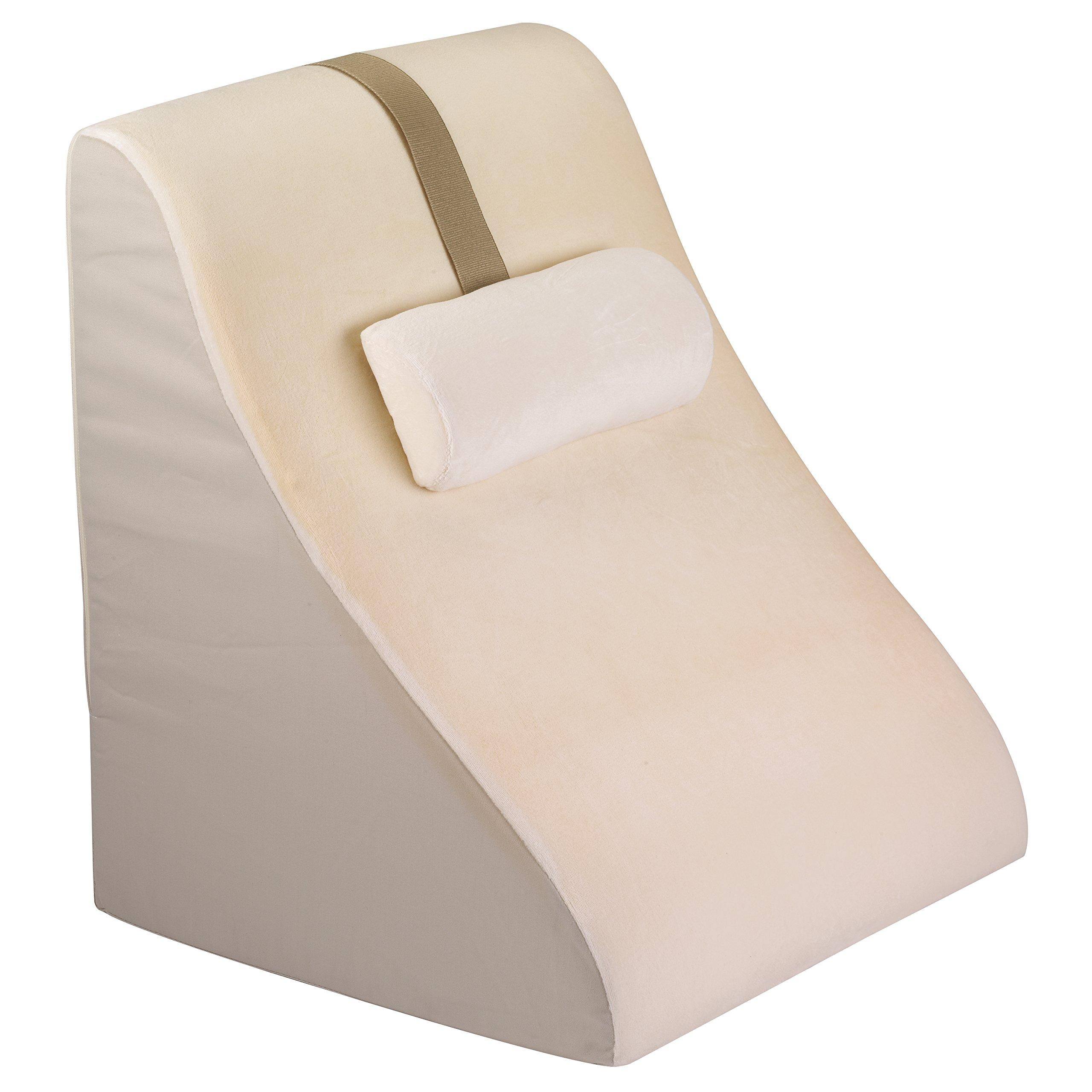 jobri bed wedge with memory foam back support new. Black Bedroom Furniture Sets. Home Design Ideas
