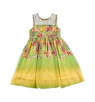 Sommerkleid gelb madchen