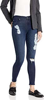 product image for James Jeans Women's Twiggy Ankle 5-Pocket Legging Jean In Dark Pyro