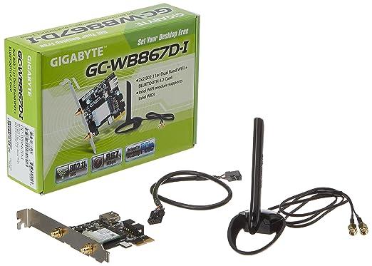 27 opinioni per Gigabyte GC-WB867D-I- Scheda di rete, colore: marrone
