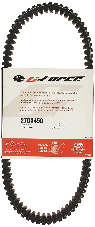 Gates 27G3450 G-Force C-12 CVT Belt