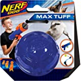 Nerf Dog Ultra Tough Rubber Ball Dog Toy, Lightweight, Durable and Water Resistant, 2.5 Inches, For Small/Medium/Large Breeds, Single Unit, Blue