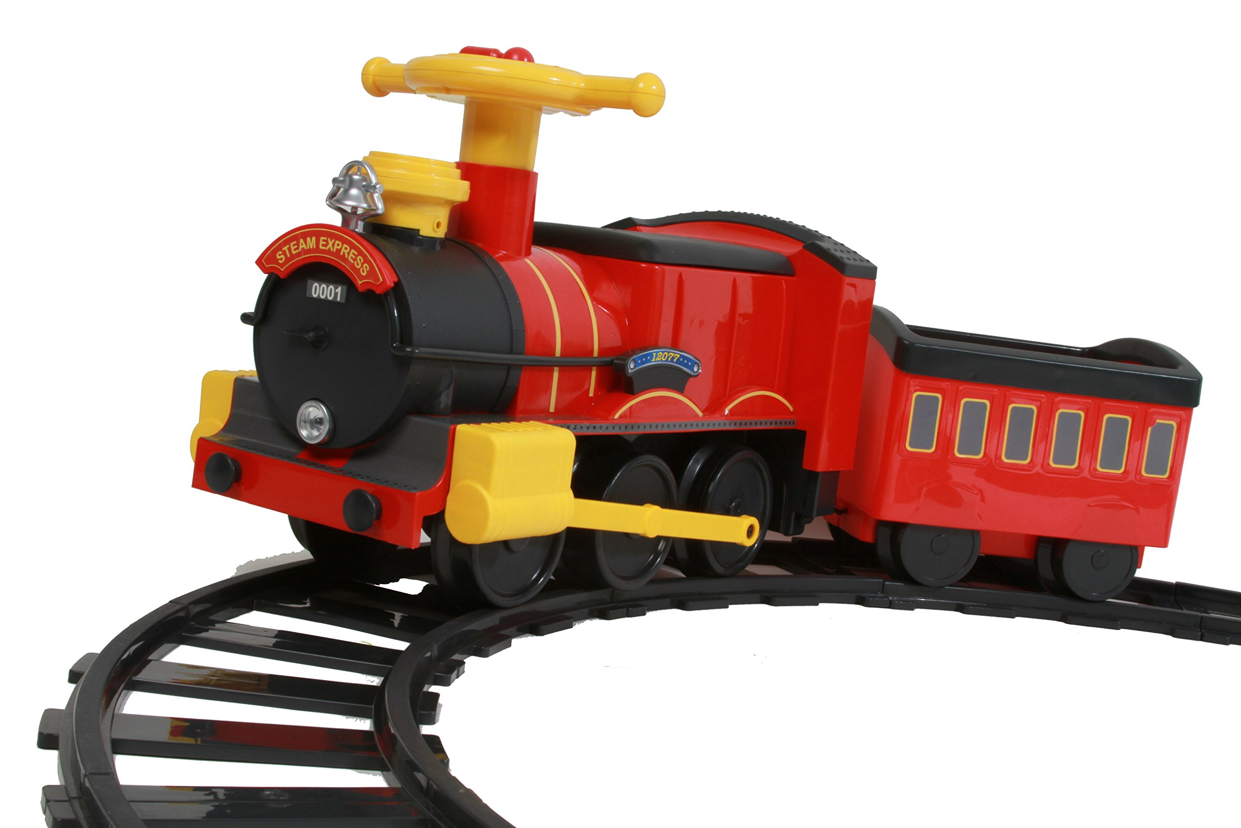 Rollplay Steam Train 6-Volt Battery- Powered Ride-On by Rollplay