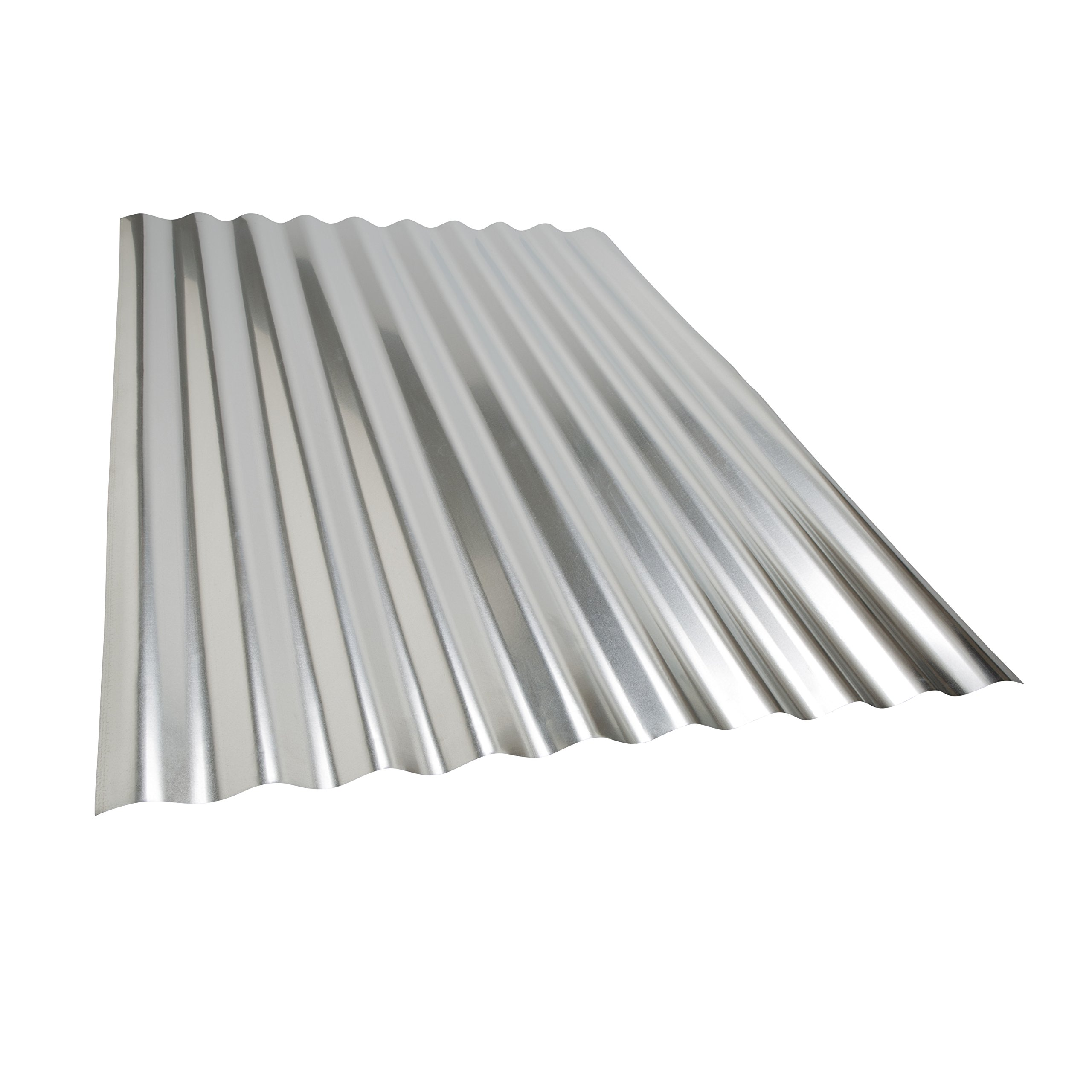 Amerimax Home Products 4736011001 Corrugated Metal 3' Project Panel, 3 Piece