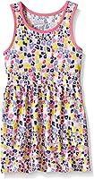 Marmellata Girls' Rainbow Animal Print Knit Dress