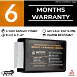 Autofy TOCSIN Plug & Play Highway Indicator Flasher With 6 Months Warranty - Indicator Blinker Hazard Flasher Module For All KTM Bikes (40 Patterns)