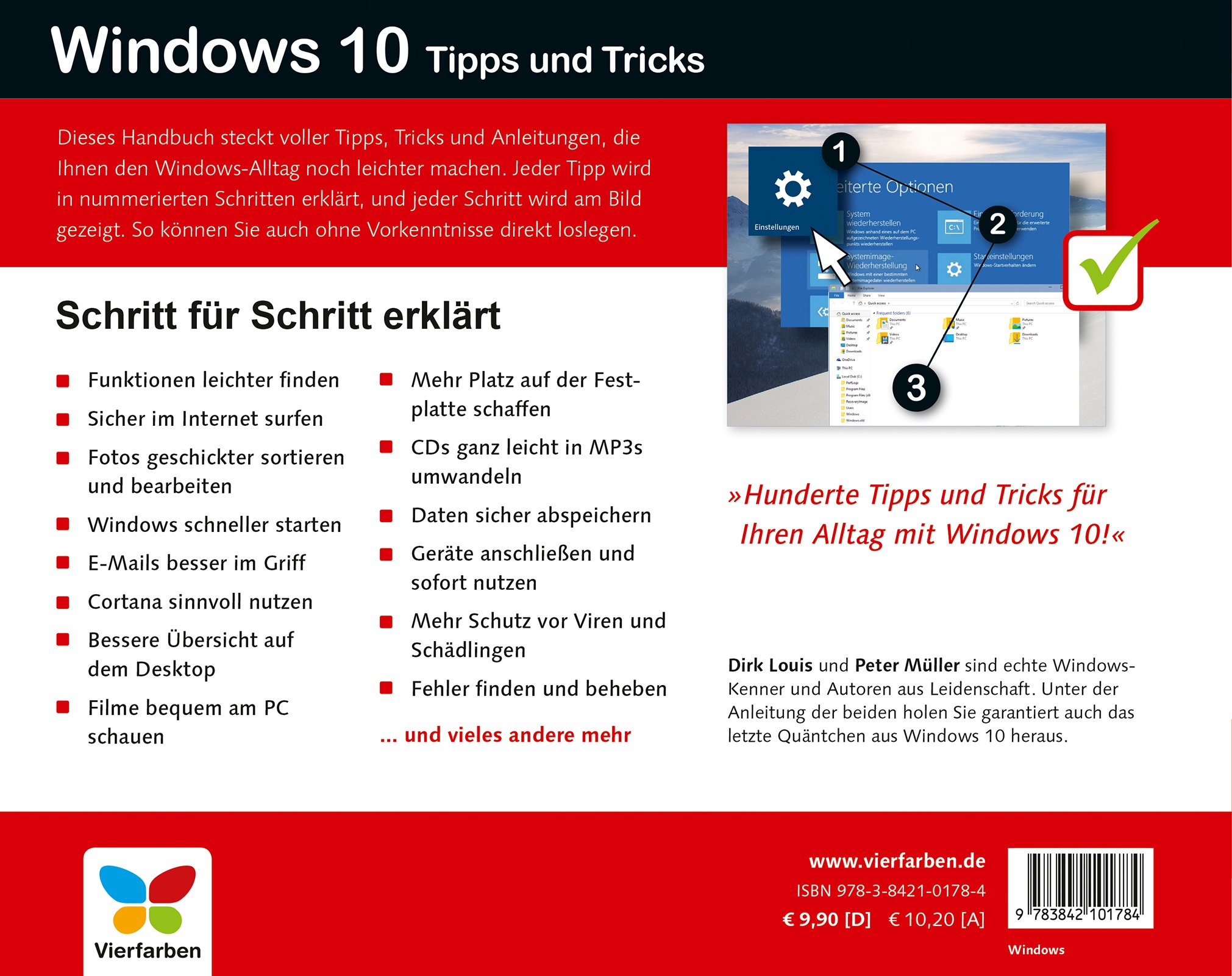 Windows 10 Tipps und Tricks: 9783842101784: Amazon.com: Books