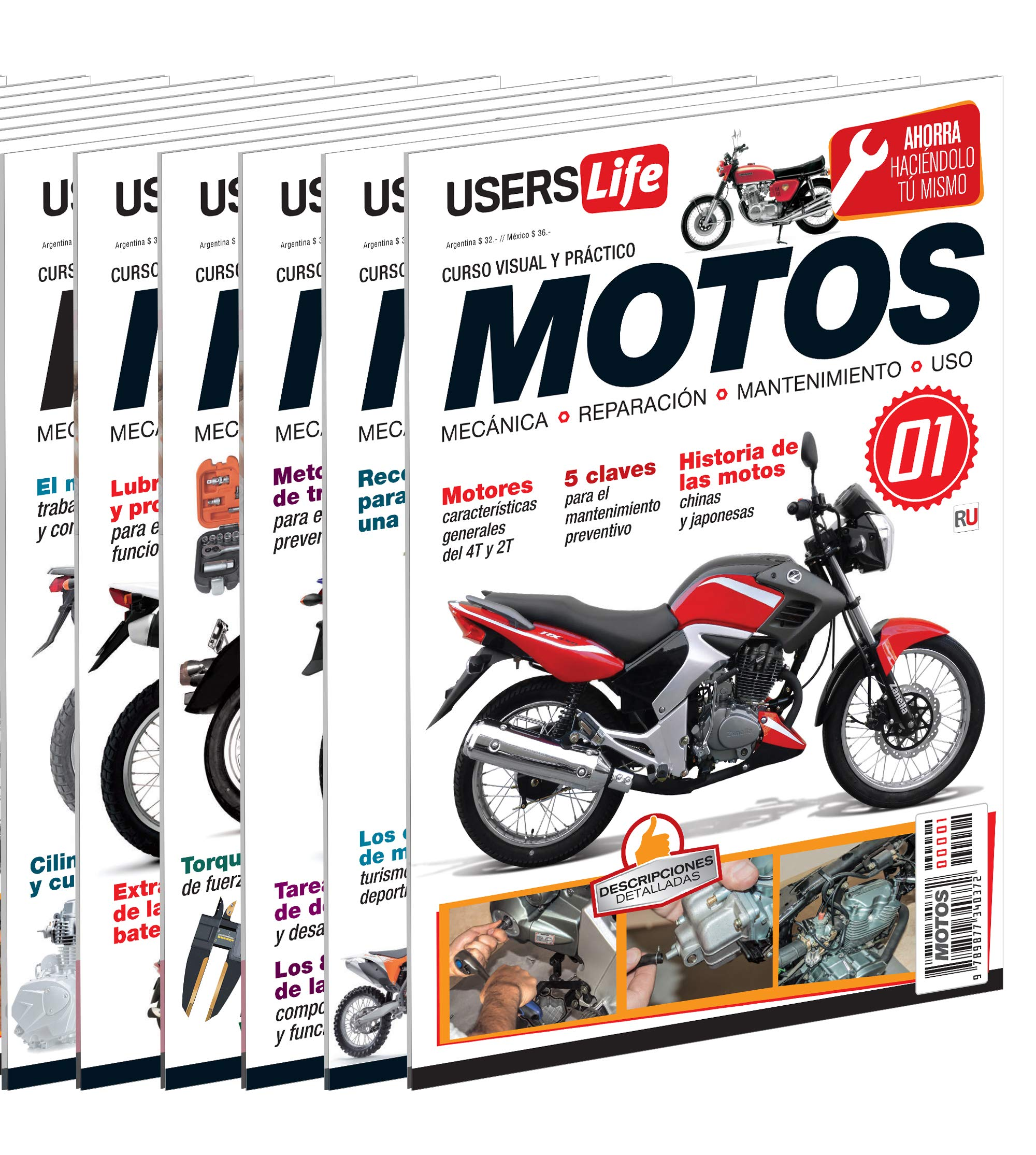Motos - Mecánica, reparación, mantenimiento y uso (Spanish Edition): Hernán Pesis, USERS, Español Espanol Espaniol: 9789877340372: Amazon.com: Books