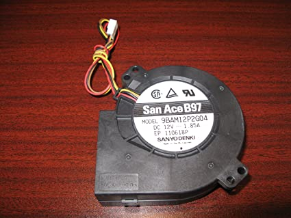 Amazon com: San Ace B97 9BAM12P2G04 Fan Blower Sanyo Denki