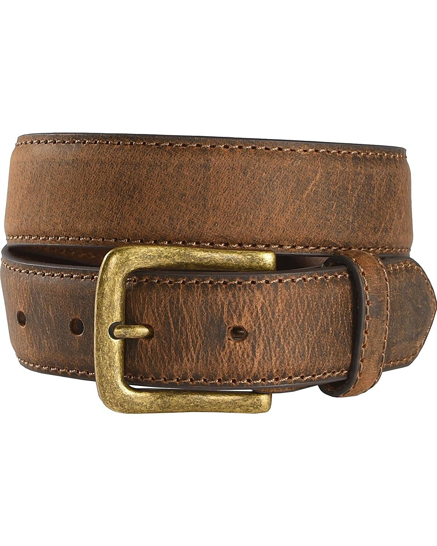 Blt707-26 Cody James Boys Two-Tone Leather Belt