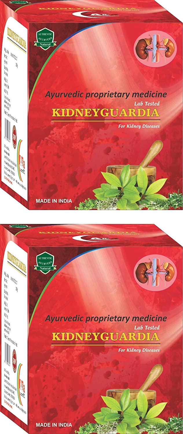 Buy A A Ayurvedic Kidneyguardia Ayurvedic Medicine For Kidney Disorder Creatinine Pack Of 2 Online At Low Prices In India Amazon In