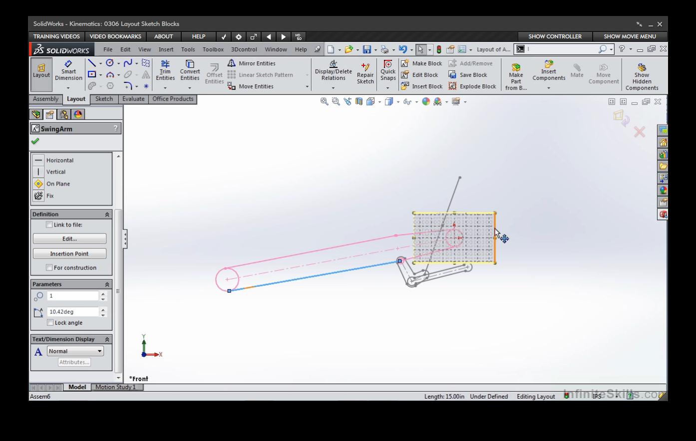Solidworks kinematics online code software computer for Online 3d software