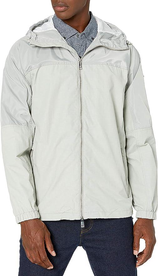 A|X Armani Exchange 阿玛尼 Paisley印花 男式连帽夹克外套 M码2.1折$43.28 海淘转运到手约¥352