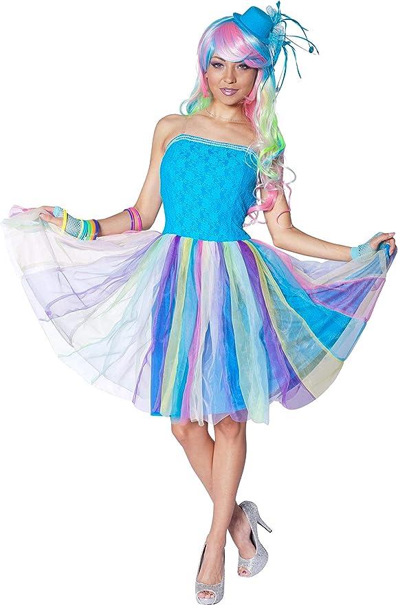 Candy Girl Lollipop Karneval Fasching Verkleidung Kostüm