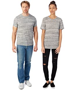 Alternative Men's Eco Crew T-Shirt, Urban Grey, Large