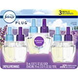 Febreze Plug in Air Freshener and Odor Eliminator, Scented Oil Refill, Mediterranean Lavender, 3 Count
