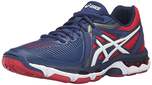 ASICS Women s Gel-Netburner Ballistic Volleyball Shoe 1a721a27602
