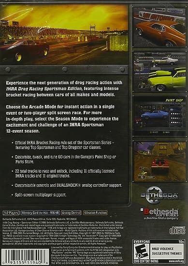 Amazon com: IHRA Drag Racing Sportsman Edition: Video Games
