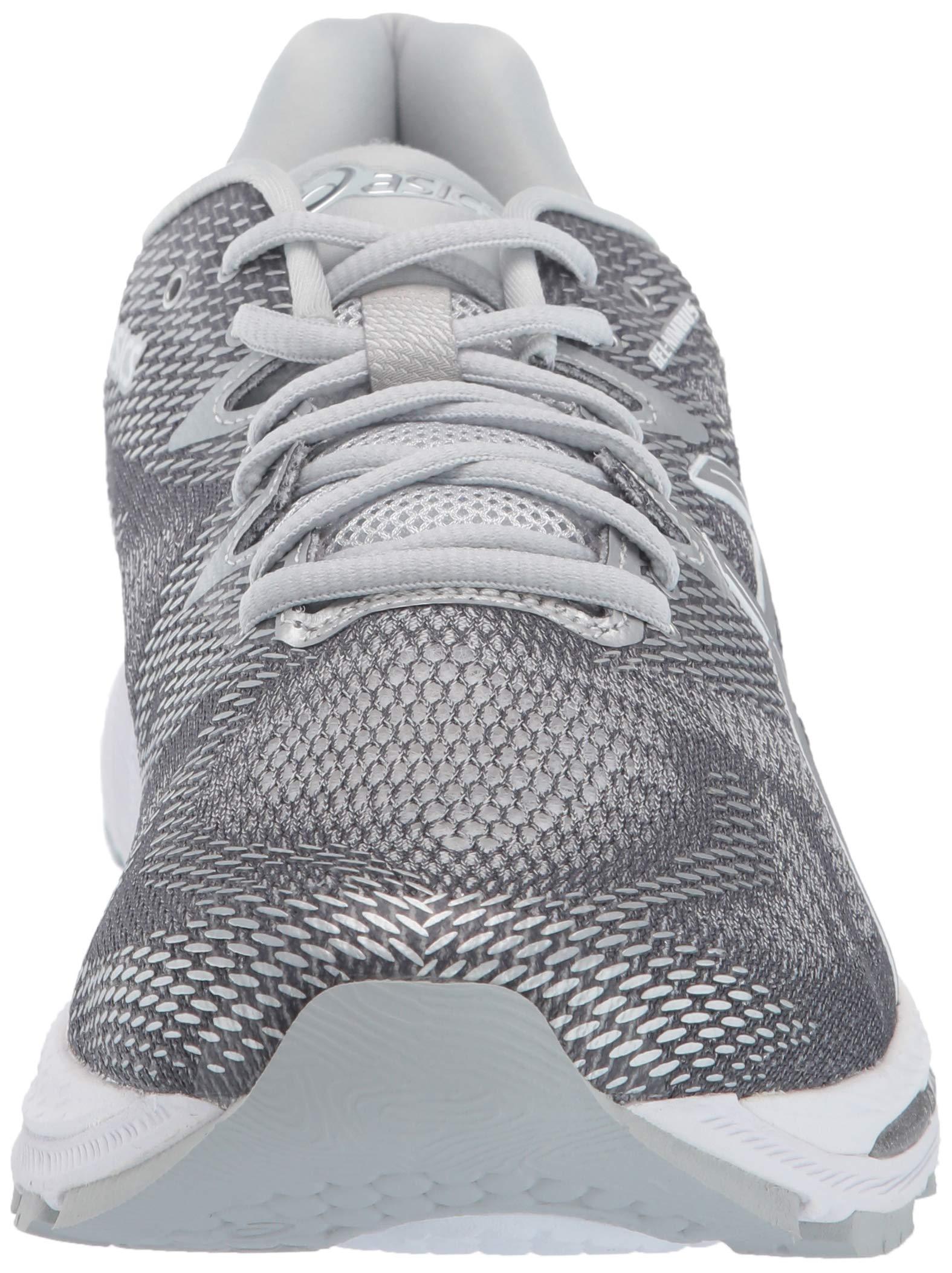 ASICS Mens Fitness/Cross-Training Trail Running Shoe, Carbon/Silver/White, 7 Medium US by ASICS (Image #4)