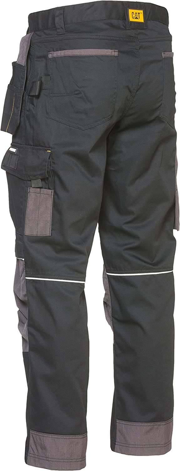 CAT Caterpillar Skilled Ops Trousers Mens Classic Fit Durable Work Pants