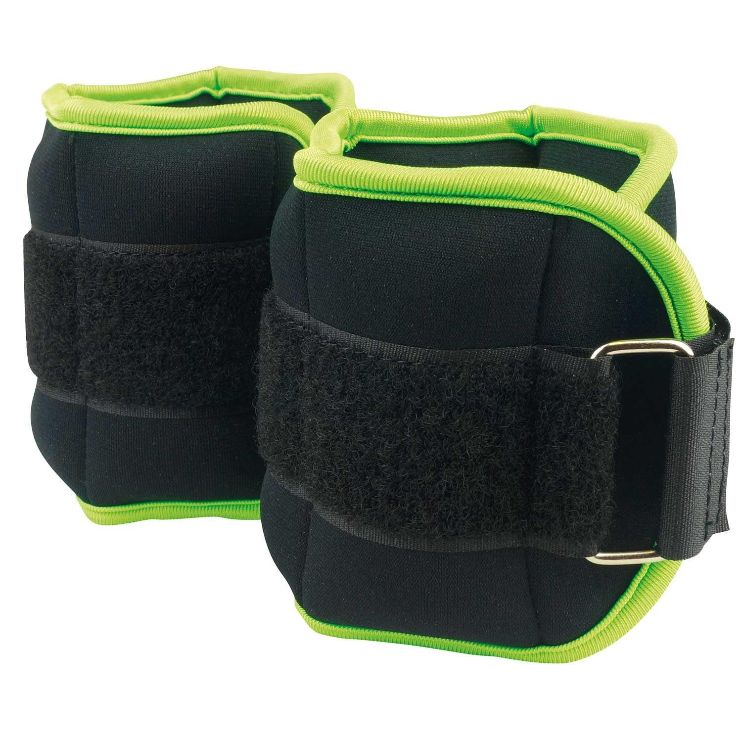 Urban Fitness Equipment Neoprene Covered Ankle Wrist Weights 0.5kg And 1kg