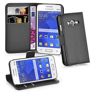 66af03722e6 Cadorabo - Carcasa para Samsung Galaxy Ace 4 Lite, Color Negro: Amazon.es:  Electrónica