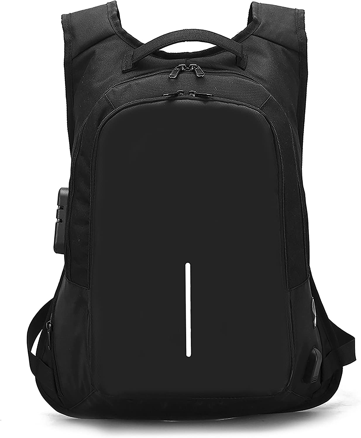 Anti-theft Travel Backpack, Business Laptop School College Bookbag with USB Charging Port for Men Women