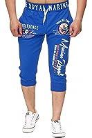 Herren Jogging Bermuda Shorts | kurze Jogginghose für Männer | leichte Baumwollhose mit Taschen | kurze Trainingshose mit Bündchen | gemütliche Freizeithose in verschiedenen Designs