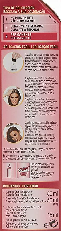 Palette Intense Cream Coloration Intensive Coloración del Cabello 01 Rubio Ultra Claro