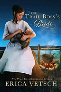 The Trail Boss's Bride: inspirational historical romance (Journeys of the Heart Book 3)