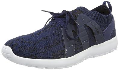 KangaROOS Damen K-Sock Sneaker, Schwarz (Jet Black/Vapor Grey), 42 EU