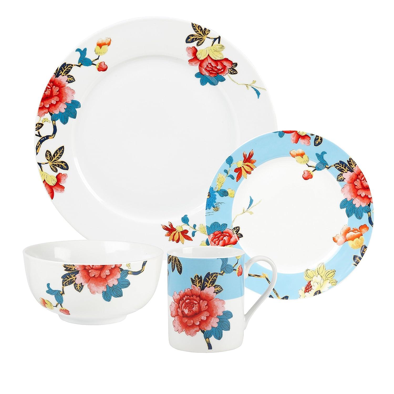 sc 1 st  Amazon.com & Amazon.com | Spode Isabella - 16 Piece Set: Dinner Plates