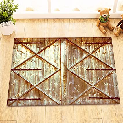Amazon.com: LB Old Western Barn Door Decor Small Bedroom ...