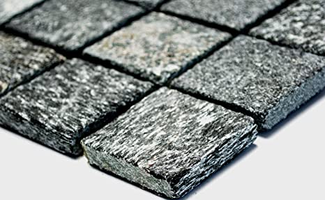 Rete mosaico mosaico piastrelle cucina quadrato con quarzite