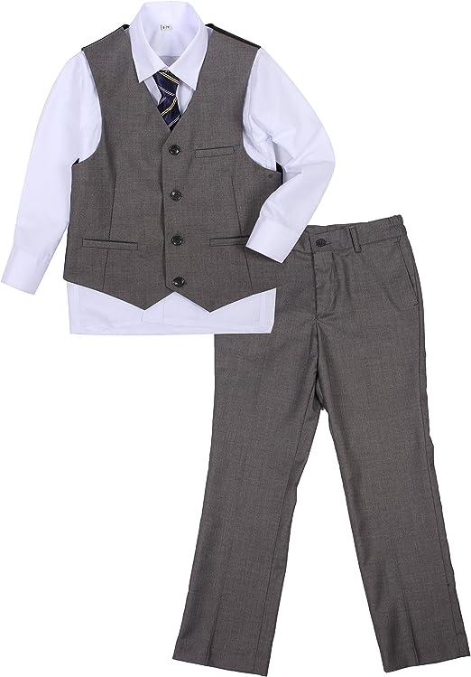 Y /& Z Page Boy Wedding Formal Christening Slim Navy Suit with Tie