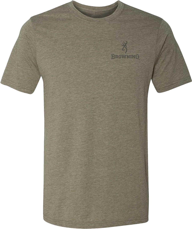 bf9e312c Amazon.com: Browning Men's X-Bolt Short Sleeve T-Shirt: Clothing
