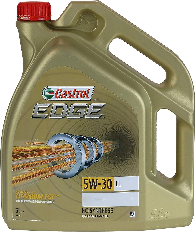 Filter Set Inspektionspaket 5 Liter Motoröl Castrol Edge Titanium Fst 5w 30 Ll Sct Germany Innenraumfilter Luftfilter Ölfilter Auto