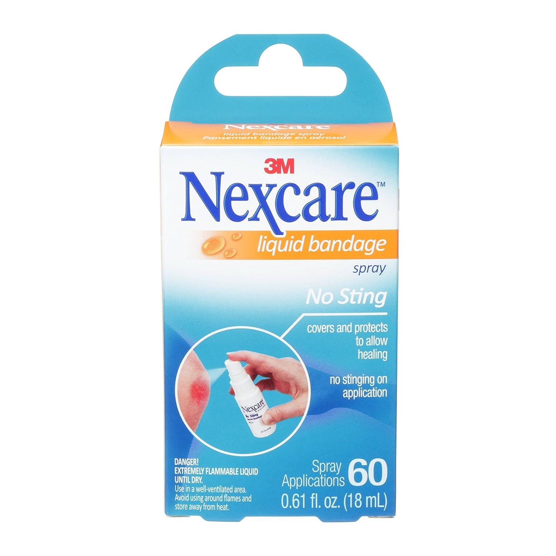 Nexcare No-Sting Liquid Bandage .61 Fluid Ounces