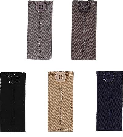16 Pezzi Set di Pantaloni Estensione Vita Bottoni in Vita Extender per Jean Pulsante di Estensione della Vita per Pantaloni Camicie Abito Pantaloni