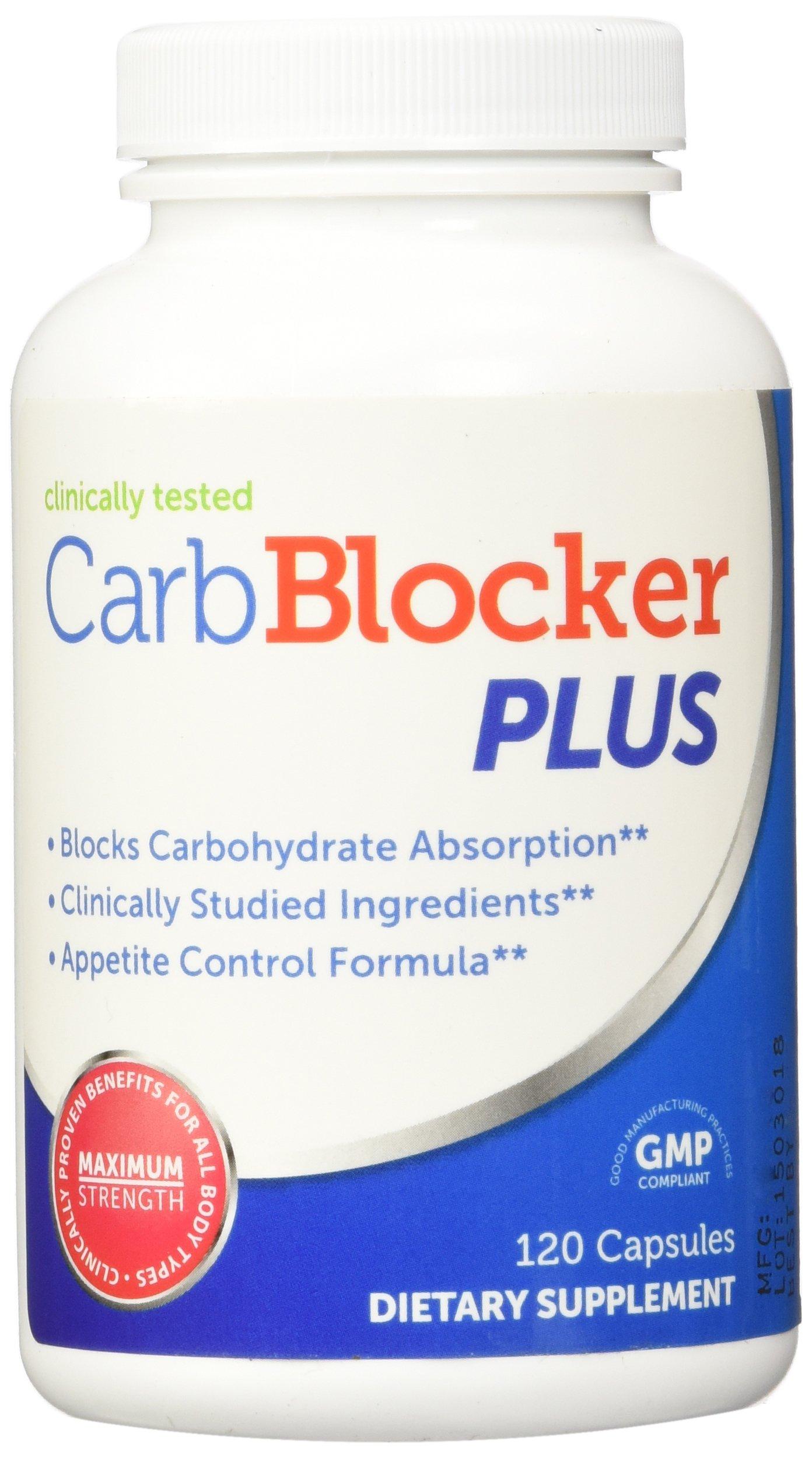 Belly Blaster Carb Blocker Plus, 120 Capsules
