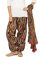 Rama Women's Cotton Printed Patiala and Dupatta Set