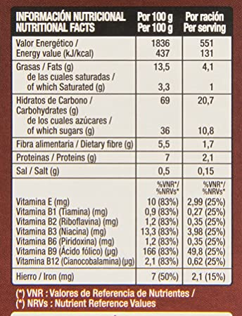 Gourmet Saquitos Chocolateados Rellenos de Chocolate y Avellanas, Cereales - 500 g: Amazon.es: Amazon Pantry