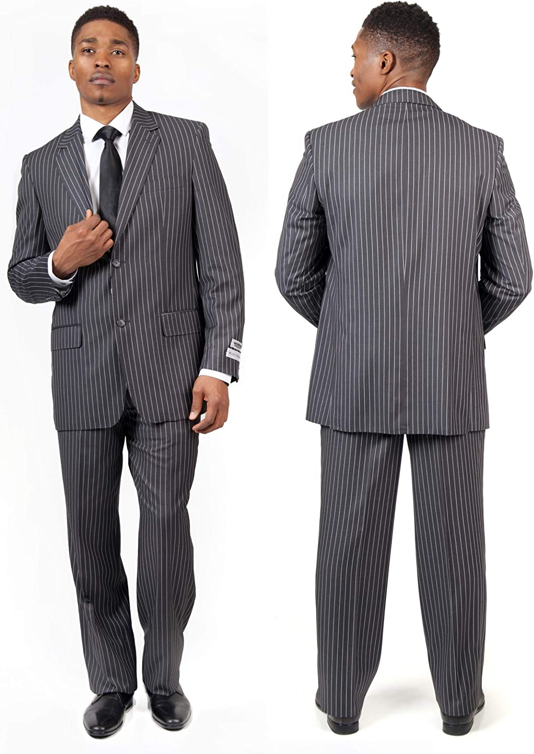 Tailored Modern Fit 2-Button Mens Suit