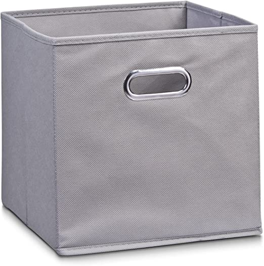 Zeller 14130 - Caja de almacenaje de tela, plegable, 28 x 28 x 28 ...