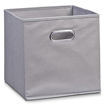 Zeller 14130 - Caja de almacenaje de tela, plegable, 28 x 28 x 28