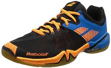 b54080359094 Babolat Men s Shadow Tour Badminton Shoes  Amazon.co.uk  Sports ...