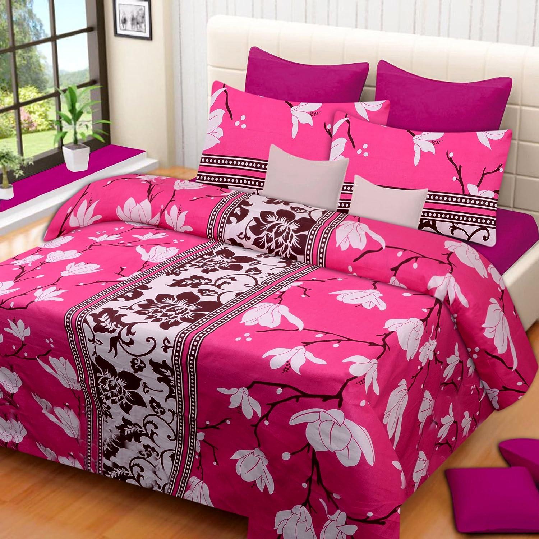 Home Elite 104 TC Cotton Double Bedsheet